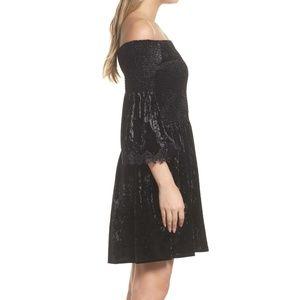 KOBI HALPERIN Donella Velvet Dress.